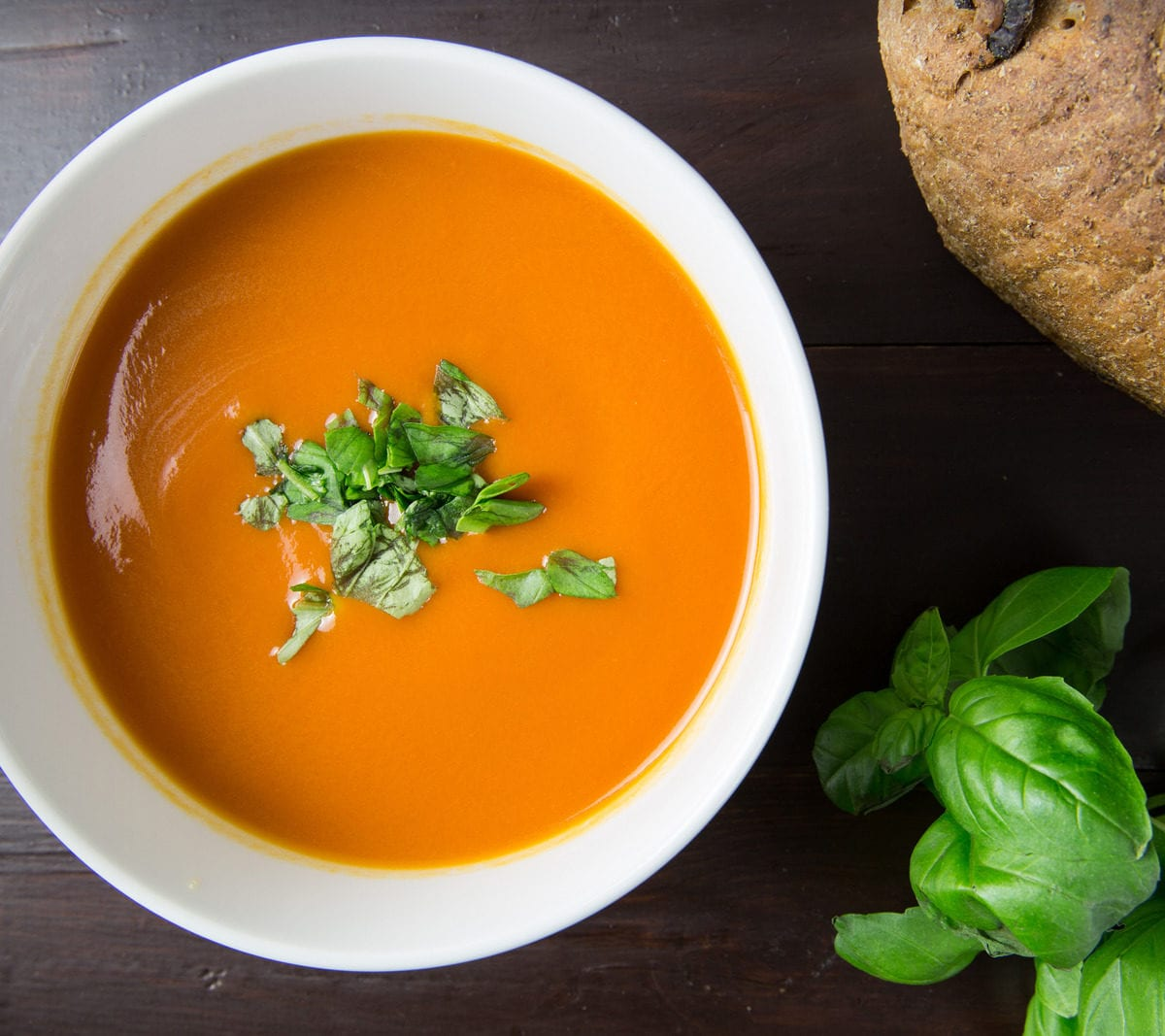 Canva - Brown Soup in White Ceramic Bowl