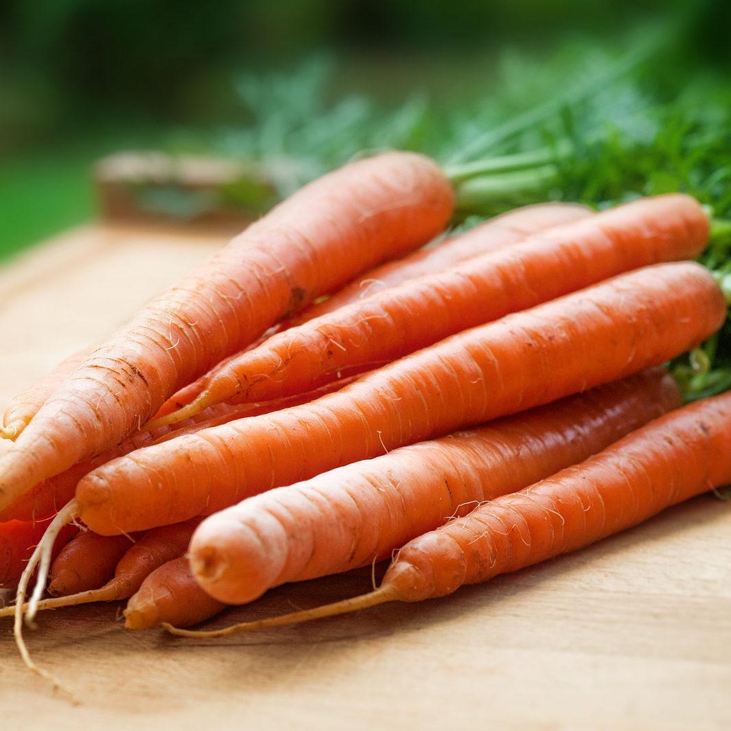 Canva - Orange Carrots on Table