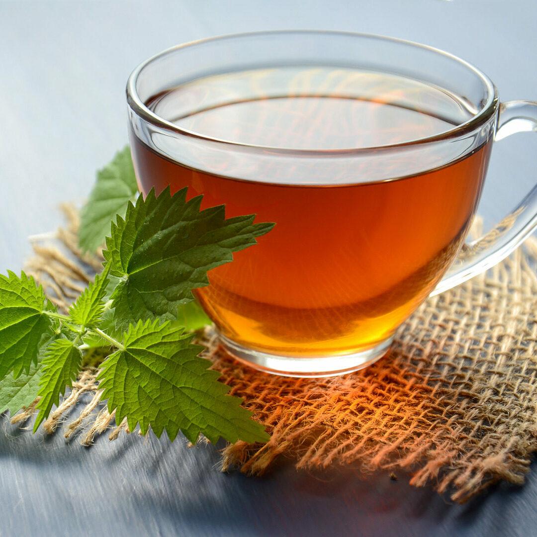 Canva - Peppermint Tea on Teacup